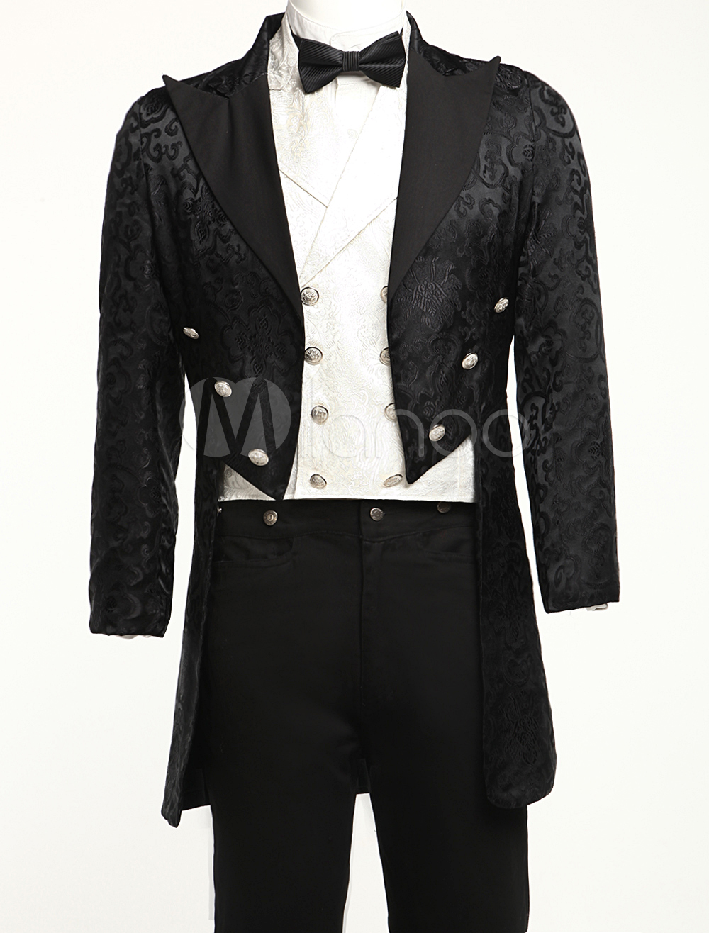 Full Length Steampunk Swallowtail Costume for Men $74.99 AT vintagedancer.com