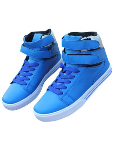Modern Soft Leather Men's High Cut Athletic Shoes - Milanoo.com