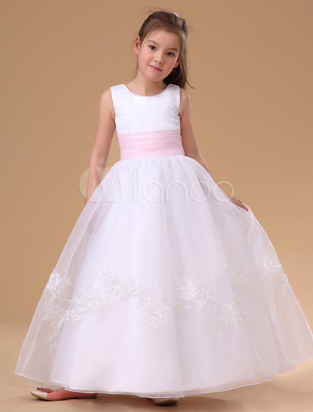 Vestidos de las muchachas de flores para bodas