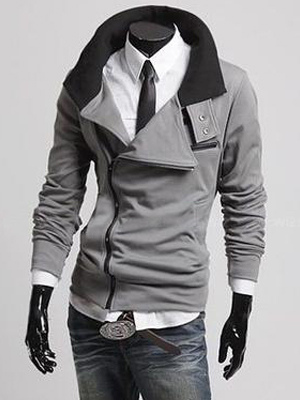 Hooded Cotton Men's Jacket