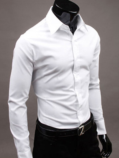 White Cotton Mens Shirts | Artee Shirt