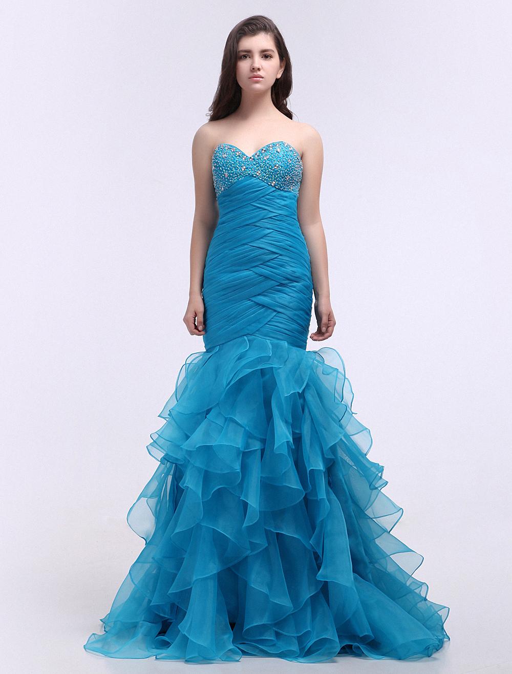 Style prom dress plus size buy trumpet mermaid style prom dress