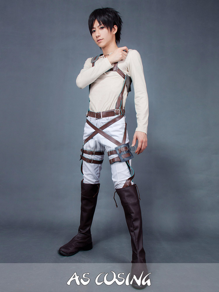 Attack on Titan Eren Jaeger Cosplay Costume - Milanoo.com