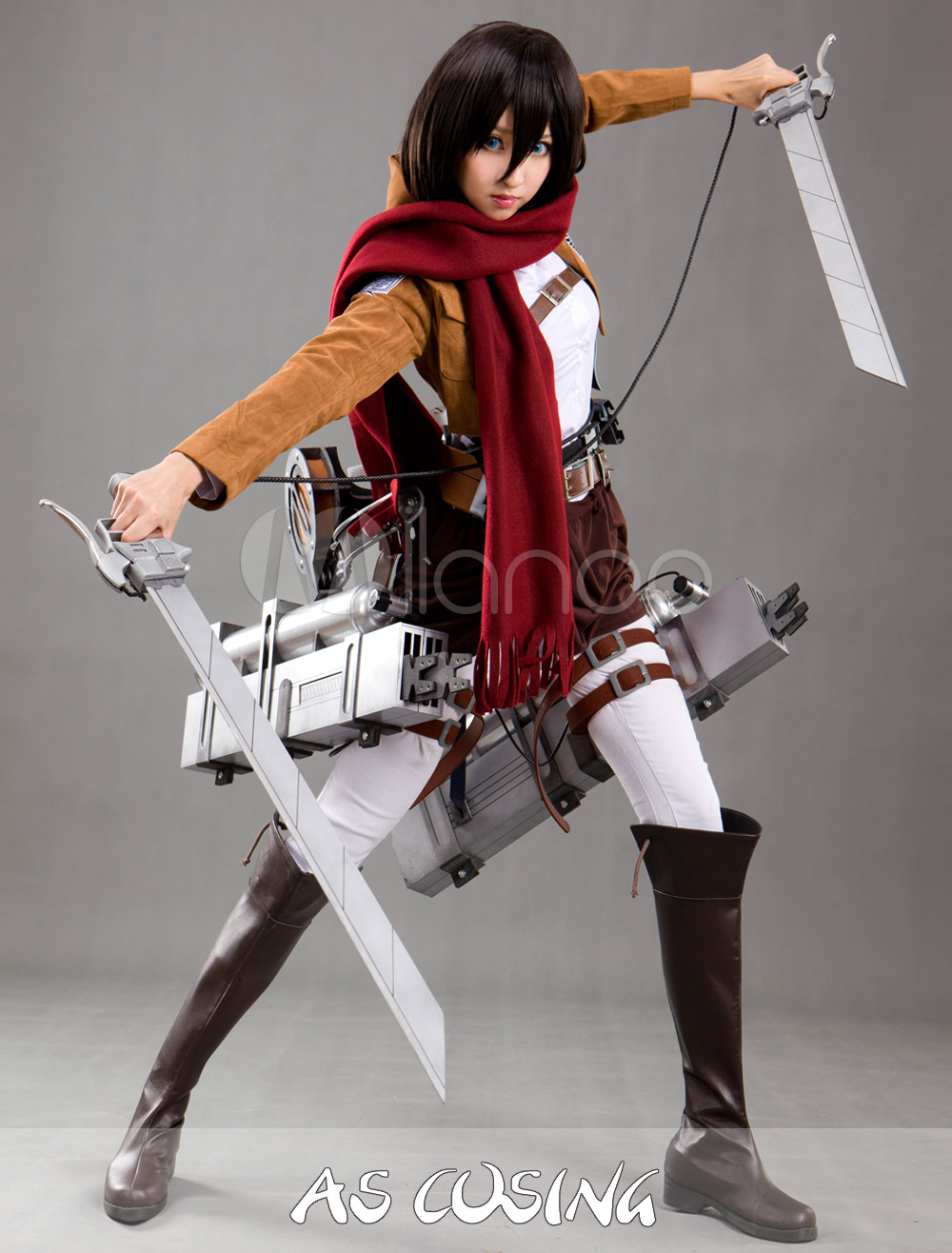 Attack on Titan Mikasa Swimsuit Attack on Titan Mikasa