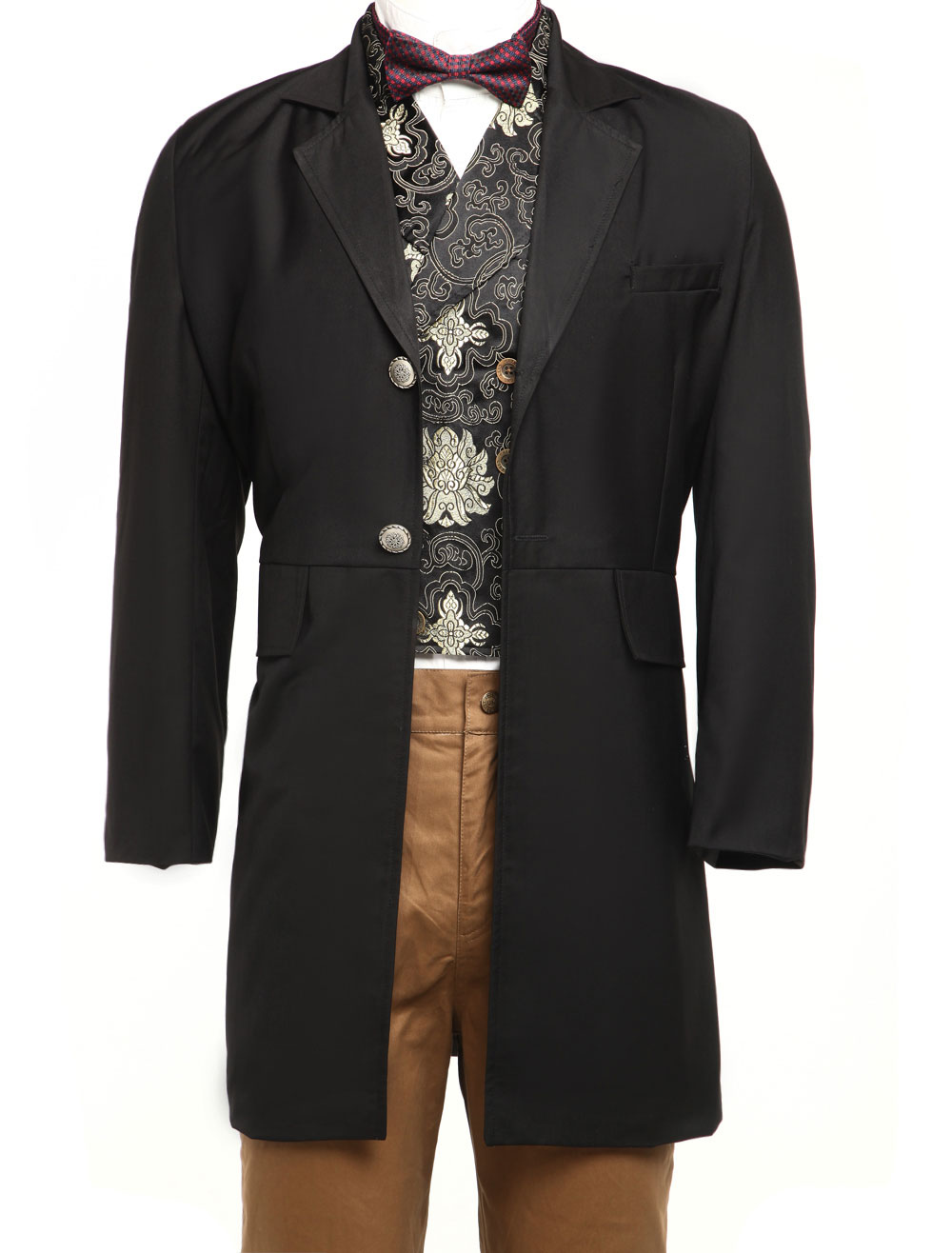 Full Length Mens Steampunk Coat $74.99 AT vintagedancer.com