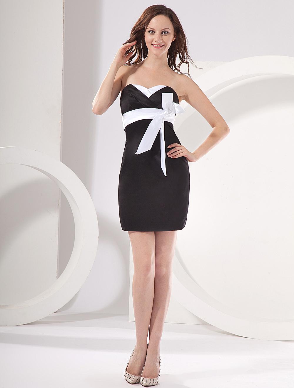 Black modern dress - 35 Off