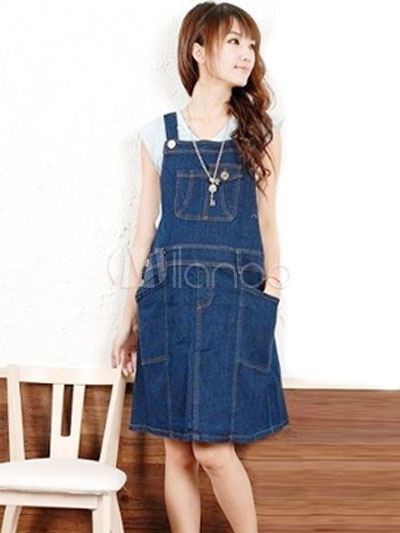 Collection Maternity Jean Dress Pictures - The Fashions Of Paradise