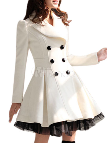 Kaputi - Page 5 White-Turndown-Collar-Long-Sleeves-Buttons-Two-Tone-Coat-for-Woman-332872-2367095