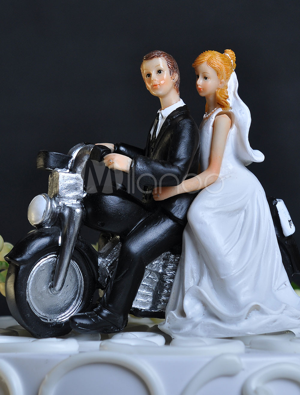 Classic & Traditional Figurine Athletic Wedding Cake Toppers