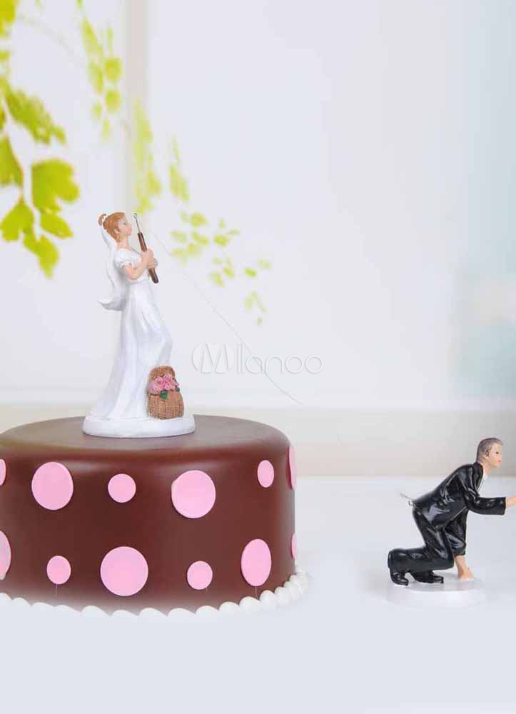 Classic Traditional Figurine Funny Wedding Cake Toppers