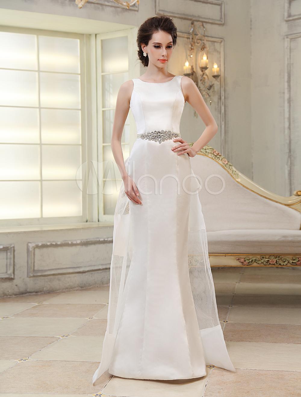 Etui brautkleid aus satin milanoo etui stil flanevo for Milanoo abendkleider