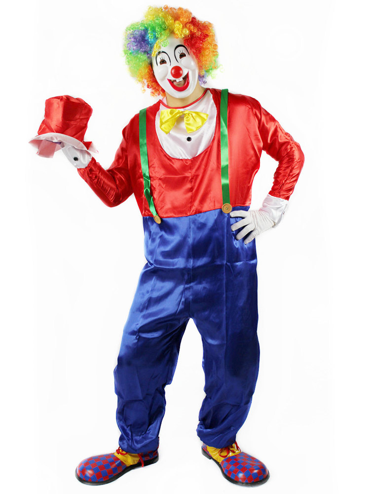 Как сделать штаны клоуна