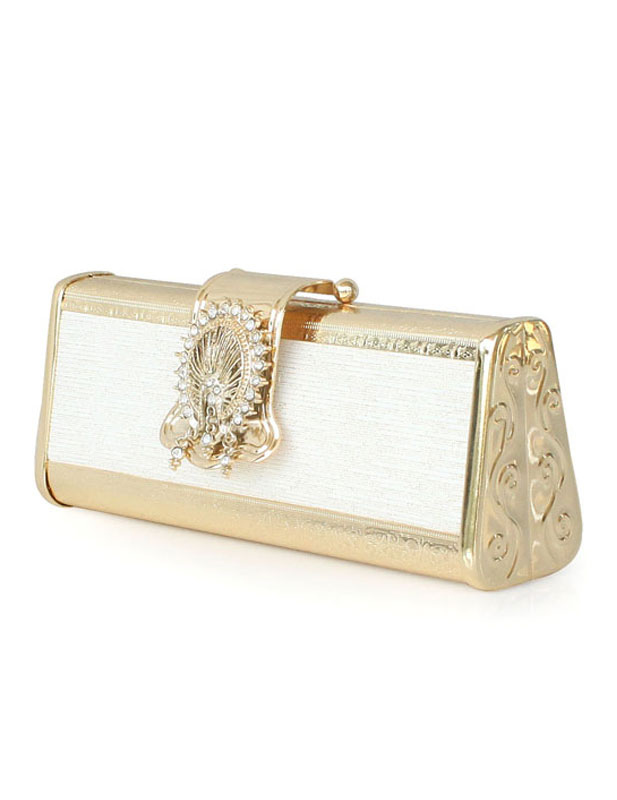 Modern Silk Evening Bag for Woman