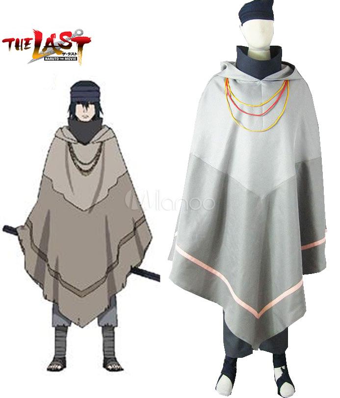 Naruto the movie the last uchiha sasuke cosplay costume milanoo com