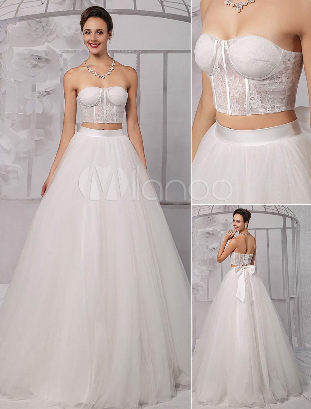 Wedding Dress Lace Corset Top - Wedding Guest Dresses
