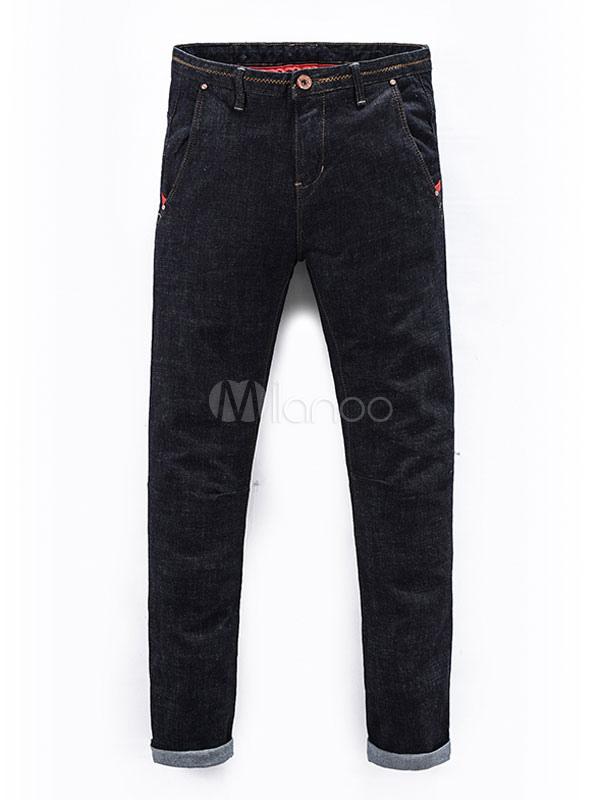 schwarze skinny jeans m nner volltonfarbe straight jeans. Black Bedroom Furniture Sets. Home Design Ideas