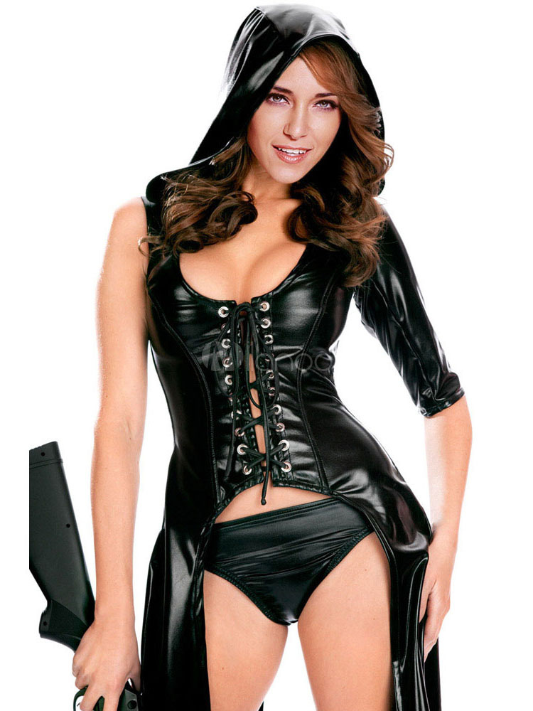 Фетиш костюм женщины