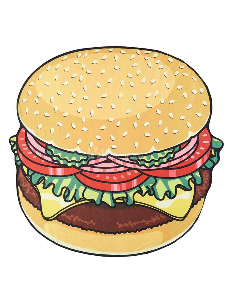 Stampa singola hamburger