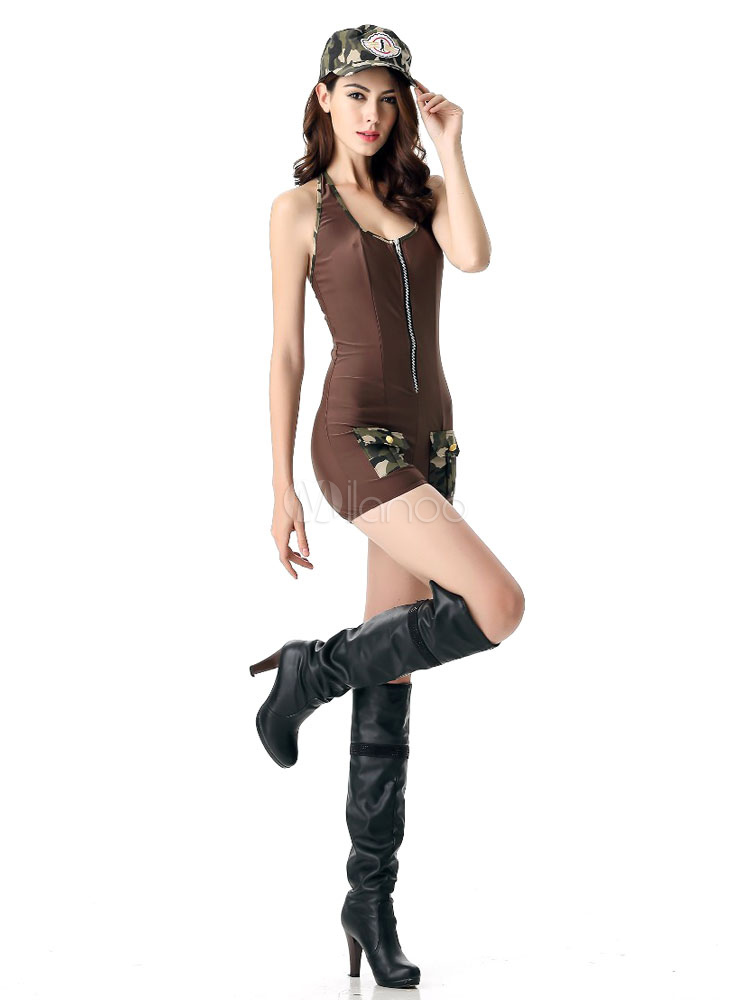 cop outfit bodycon combi halloween costume sexy f minin avec chapeau. Black Bedroom Furniture Sets. Home Design Ideas