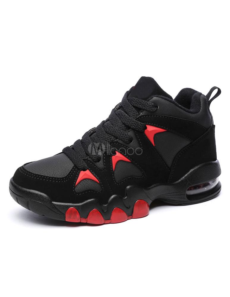 schwarze herren sneakers round toe lace up freizeitschuhe. Black Bedroom Furniture Sets. Home Design Ideas