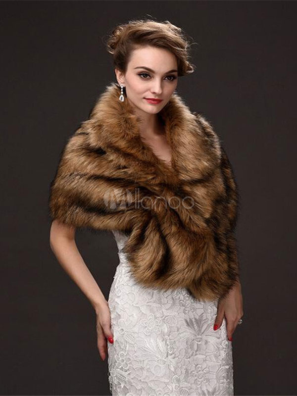 to wear - Fur wraps and shawls for women video