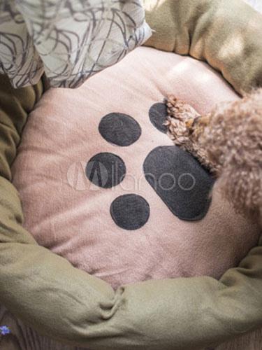 Nido per cane per gatto coral fleece adorabile di rotonde for Cucciolo di talpa