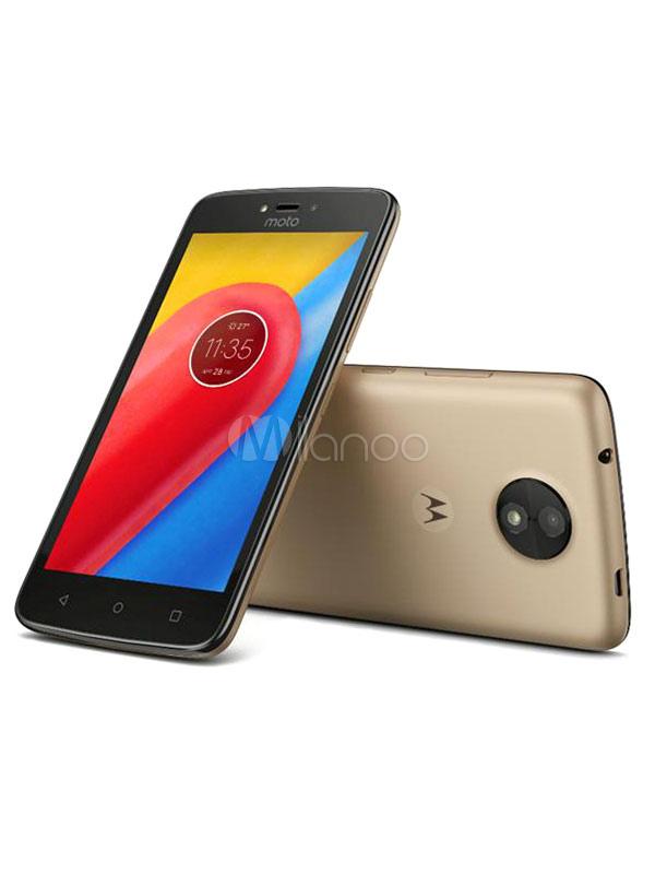 Moto C Smartphone Motorola 16GB Android 7.0 1GB RAM Dual SIM Card Dual Standby Cell Phone thumbnail