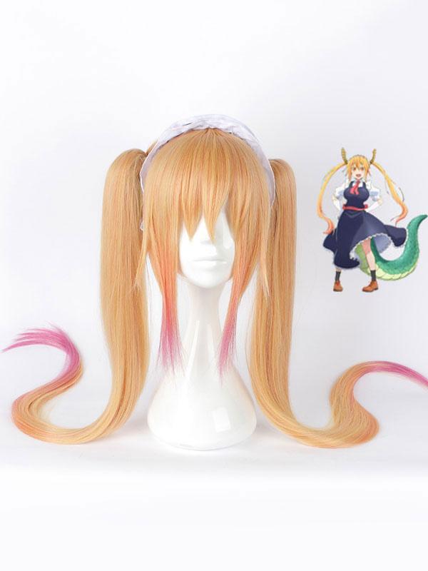 Miss Kobayashi's Dragon Maid Tohru Cosplay Wig Halloween (Costumes) photo