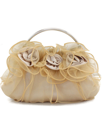 Romantic Lace Flower Bridal Purse (Wedding Wedding Handbags) photo