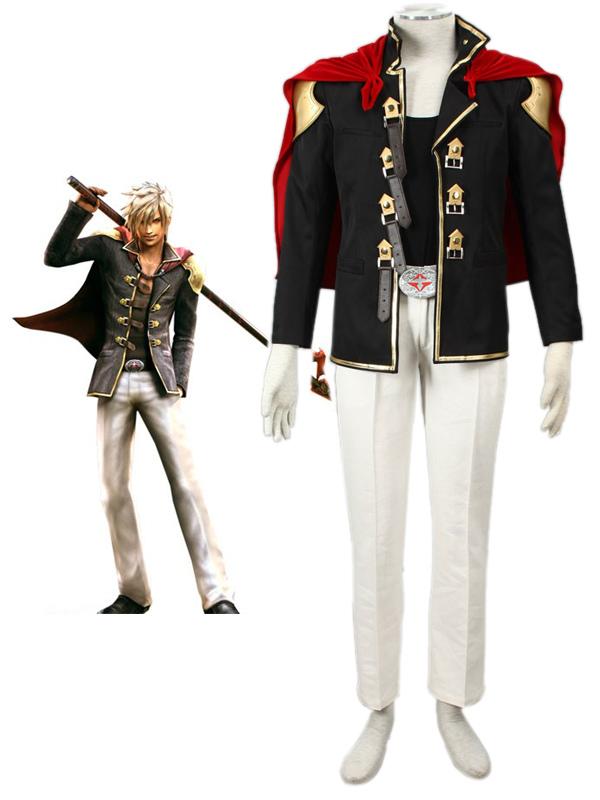 Final Fantasy Type-0 Suzaku Peristylium Class Zero NO.9 Nine Cosplay Costume