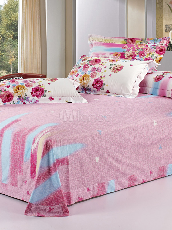Christine high thread count cotton bedding set for High thread count bed sheets