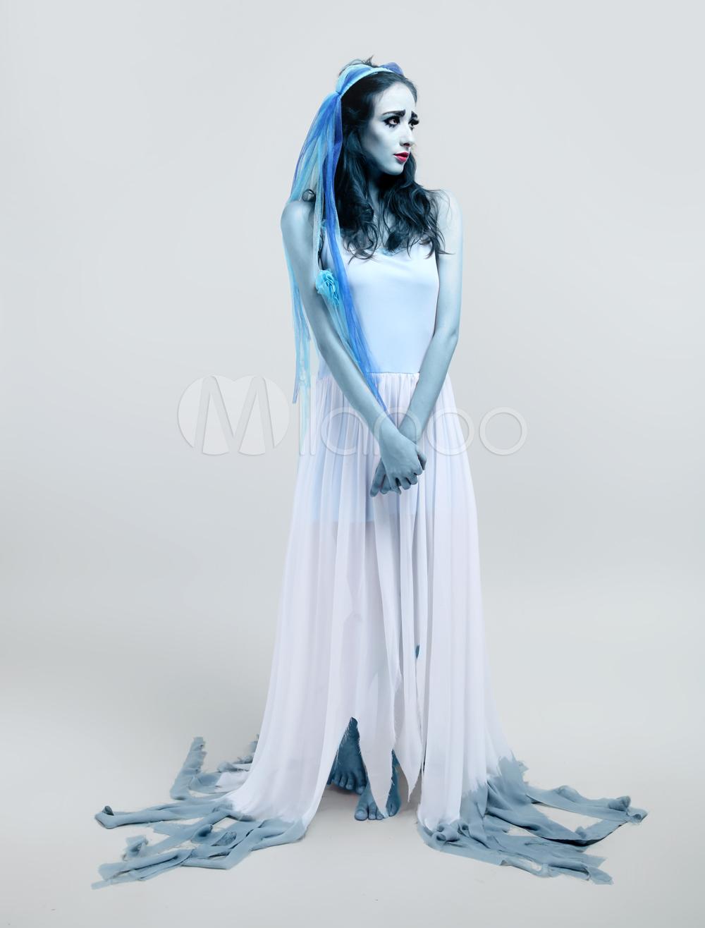 Костюм и макияж мертвая невеста своими руками