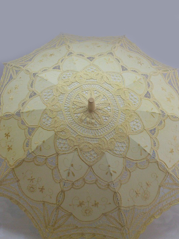 Lace Wedding Umbrella $21.99 AT vintagedancer.com