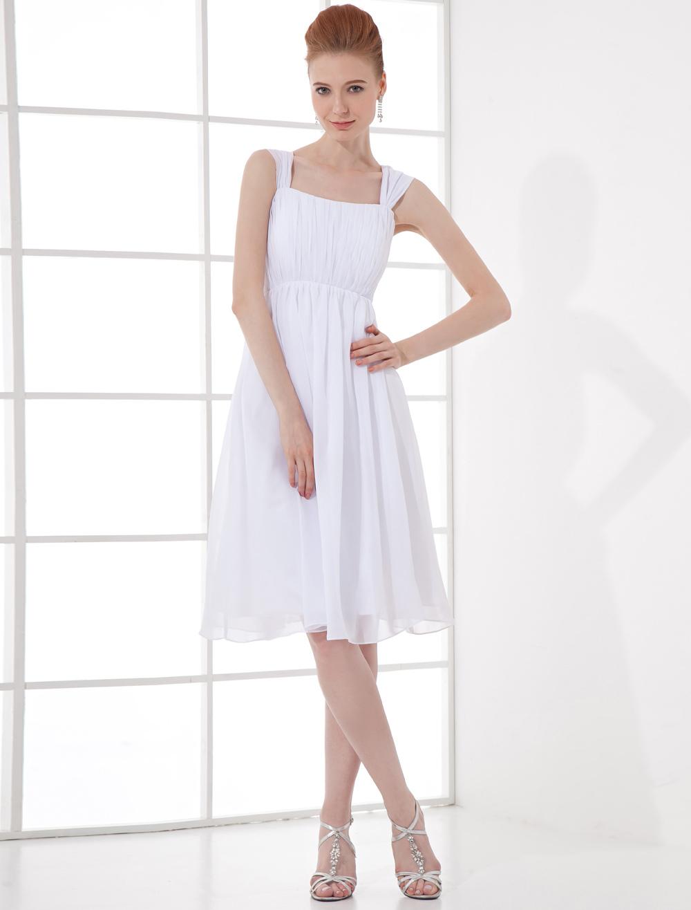 Chiffon Knee-Length Cocktail Dress