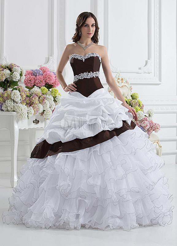 Grace Taffeta Organza Sweetheart Women's Ball Gown