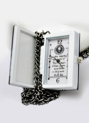 Modern Rectangle Silver Patterned Pocket Watch