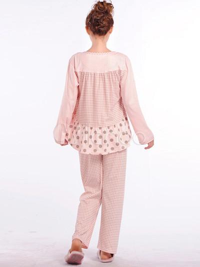comfortable-cotton-blend-maternity-sleepwear