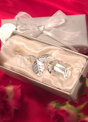 Crystal Rose Wedding Favor