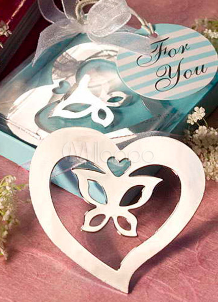 Butterfly Design Bookmark Favors