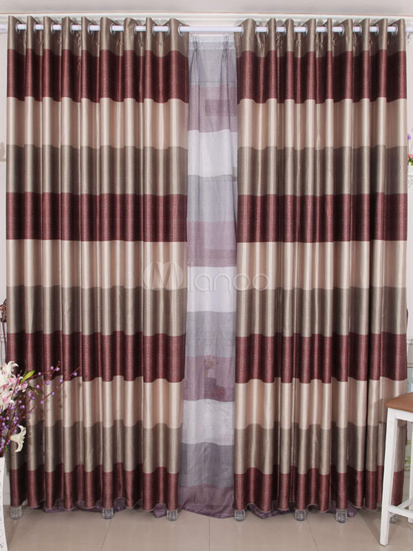 Special multi color polyester chic blackout curtains for Cortinas elegantes