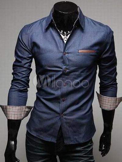 Souvent Chemise moderne homme - Chemise et costume homme UC06