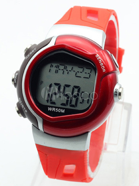 Rectangle Shape Athletic Modern Sports Watch