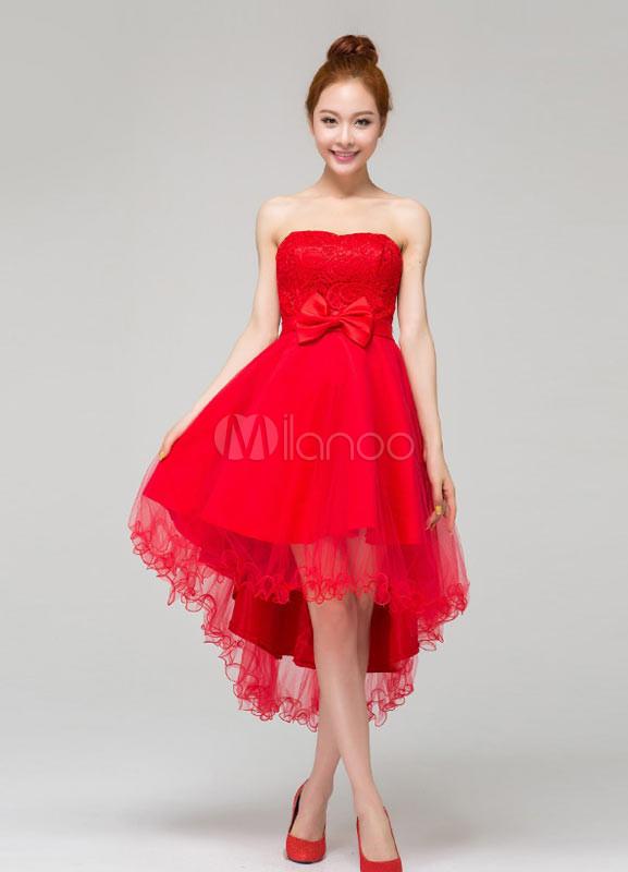 052b834c0 vestidos rojos tipo coctel