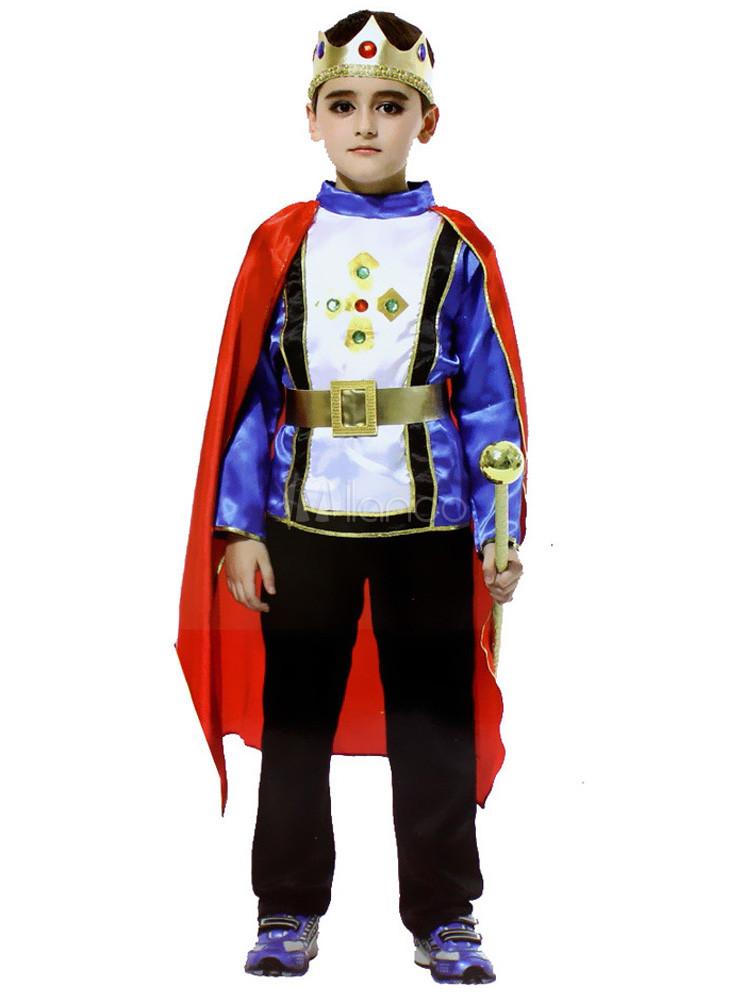 Traje para disfraz de príncipe de Halloween para niños - Milanoo.com