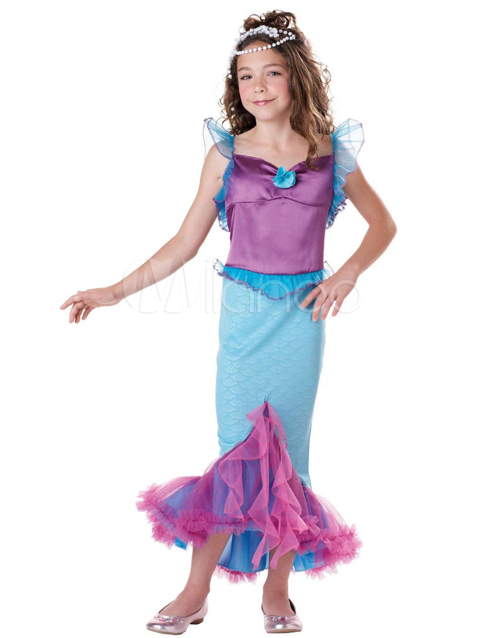 Сделать костюм русалки для девочки своими руками 52