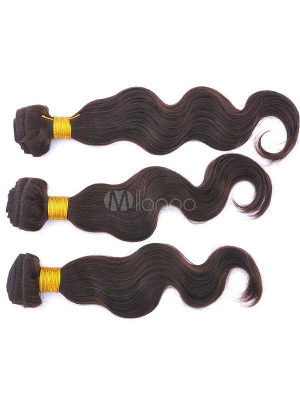20 inches 80g Medium Tan Human Hair Virgin Hair Wave