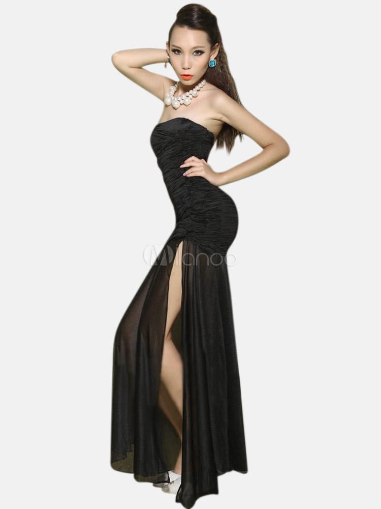 Neri e ballerini neri sexy e trasparenti
