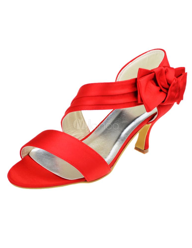 chaussure rouge petit talon. Black Bedroom Furniture Sets. Home Design Ideas