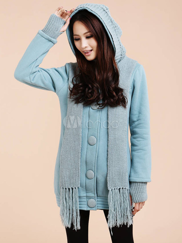 Casual Cotton Women's Hoodie