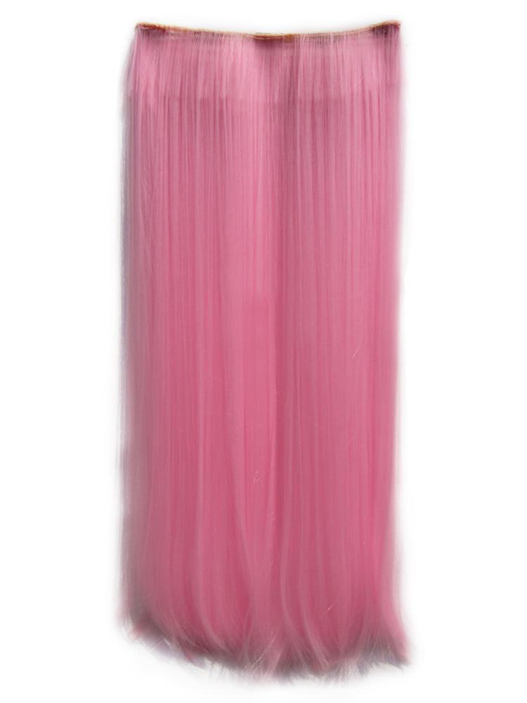rose extension droite de fibres longues r sistant la chaleur. Black Bedroom Furniture Sets. Home Design Ideas